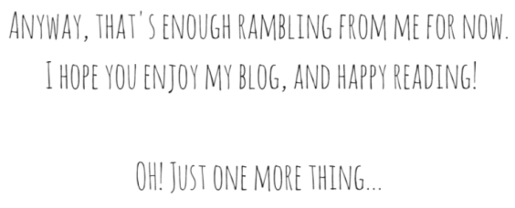 about me - rambling