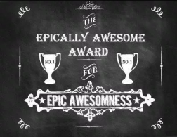 Epic awesomeness award