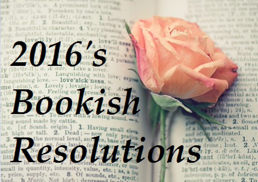 2016 bookish resolutions
