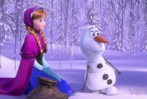 Frozen-anna-olaf