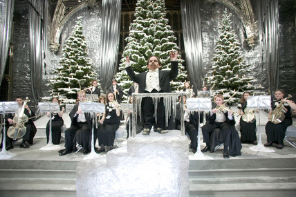 harry potter christmas choir