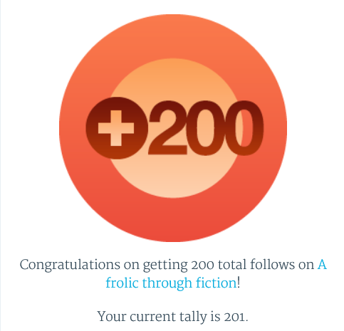 200 followers badge