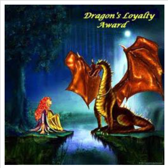 Dragon's Loyalty blog award