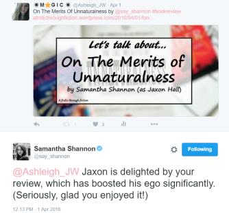 samantha shannon tweet