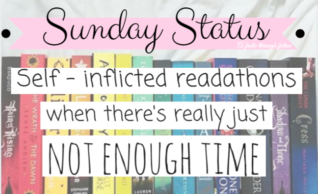 Self Inflicted readathon