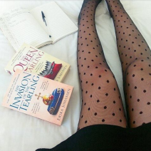 spotty tights