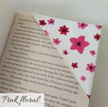 bookmark - floral