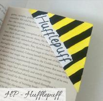 bookmark - hufflepuff