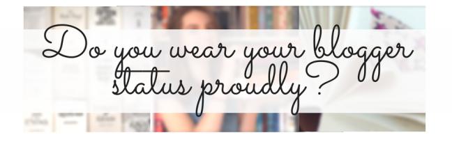 blogger status pride