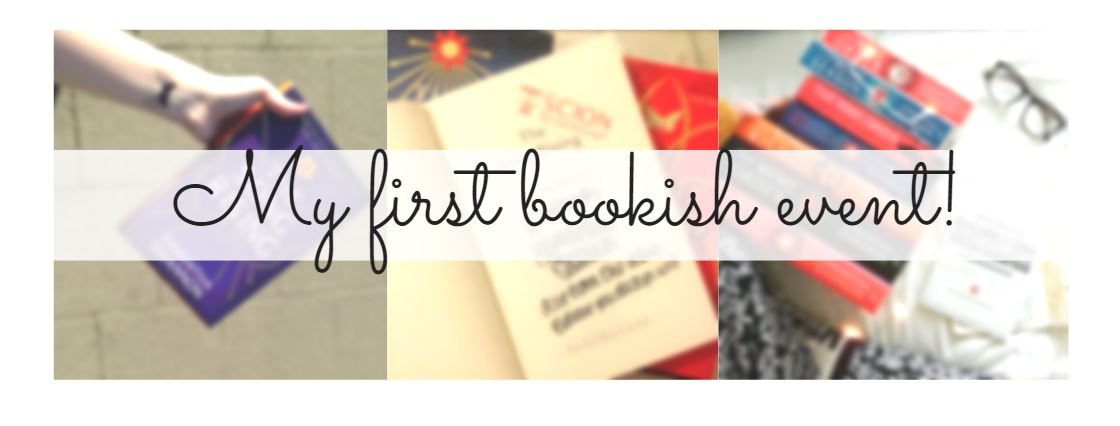 first book event