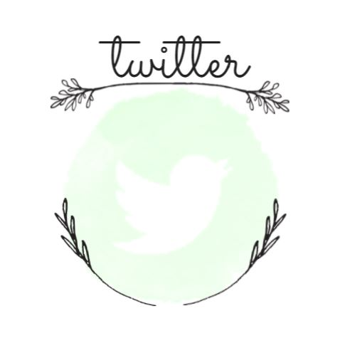 twitter logo - links to twitter page @frolic_fiction