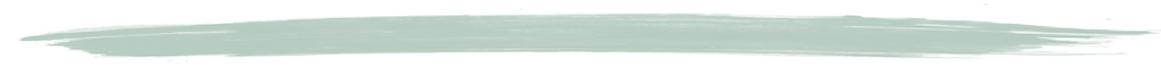green watercolour line