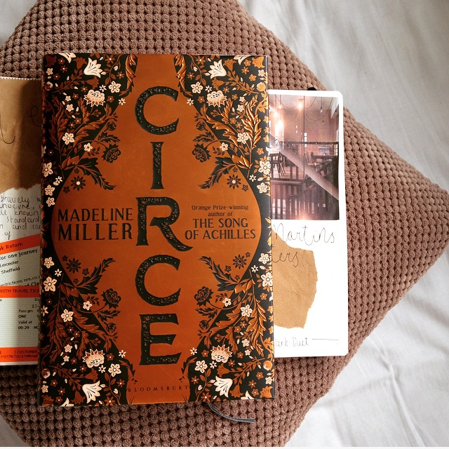 UK edition of Circe by Madeline Miller