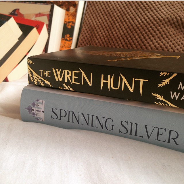 Spinning SIlver by Naomi Novik and The Wren Hunt by Mary Watson