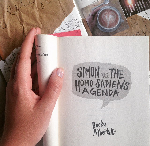 Simon vs the Homoe Sapiens Agenda by Becky Albertalli