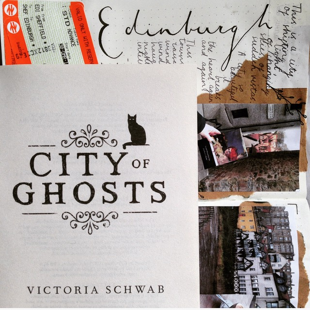 City of Ghosts by Victoria Schwab, also known as V.E. Schwab