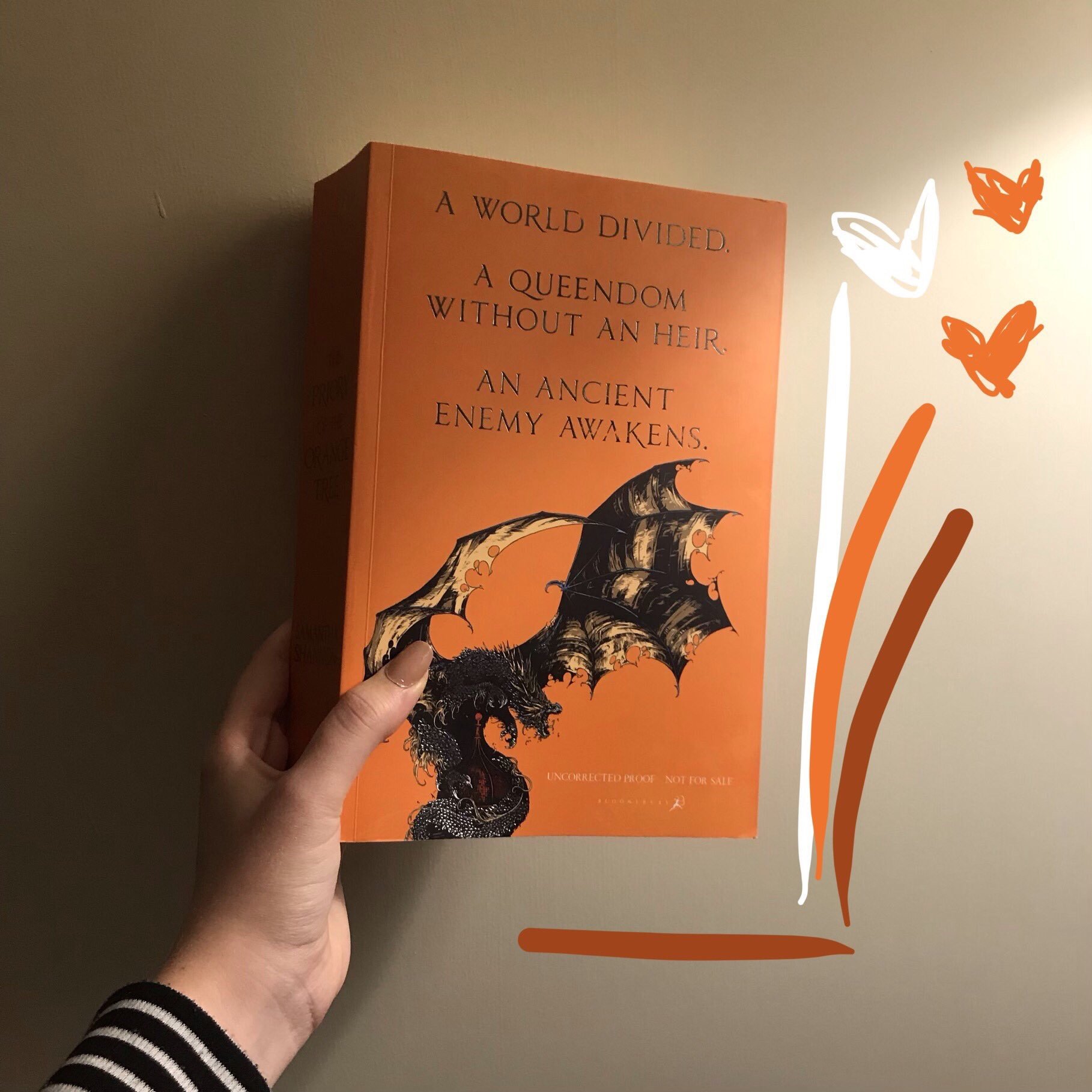 ARC of The Priory of the Orange Tree by Samantha Shannon