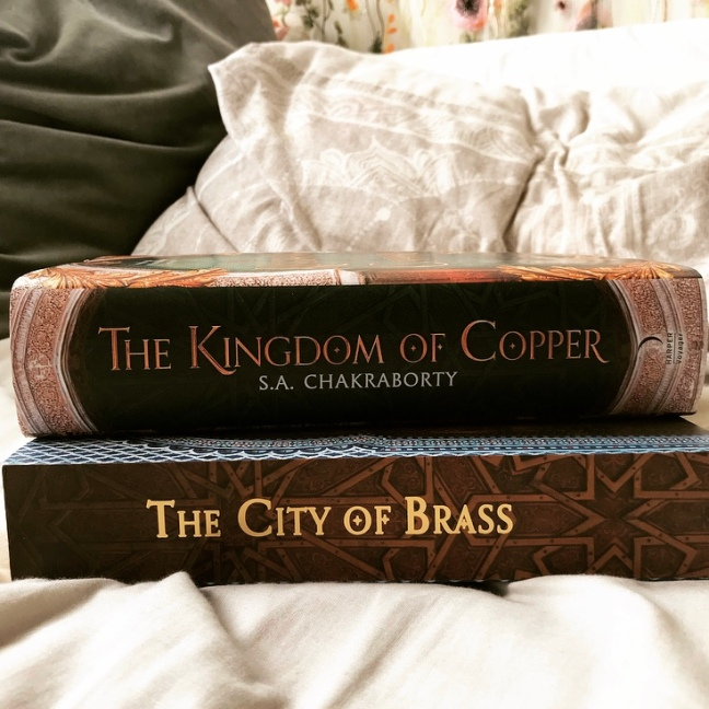 City of Brass and Kingdom of Copper by S.A. Chakraborty