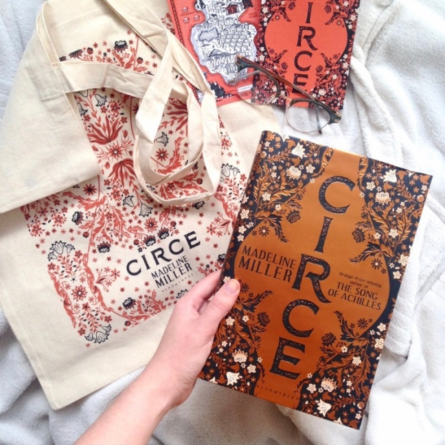 Circe by Madeline Miller - greek myth retelling