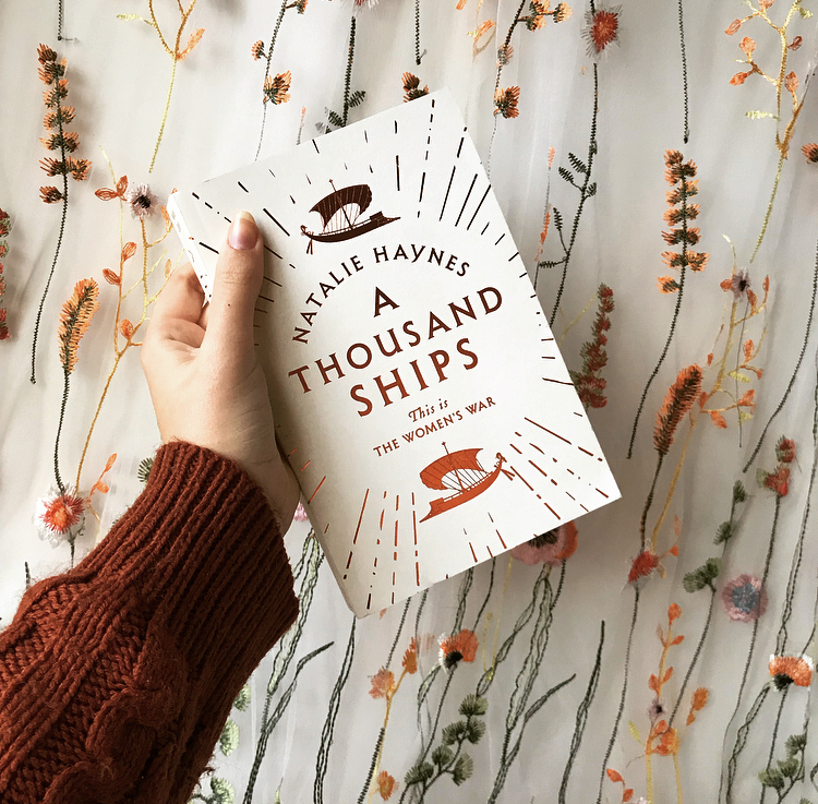 ARC of A Thousand Ships by Natalie Haynes - greek myth retelling of the Iliad
