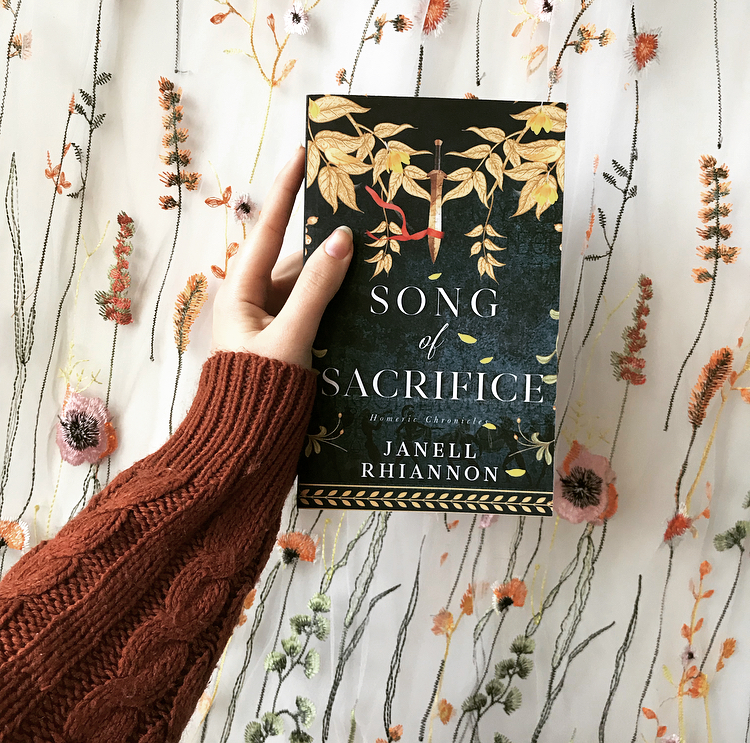 Song of Sacrifice by Janell Rhiannon - greek myth retelling of the Iliad